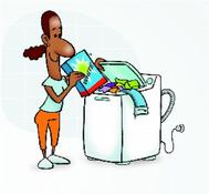 Lave o máximo de roupas de uma só vez